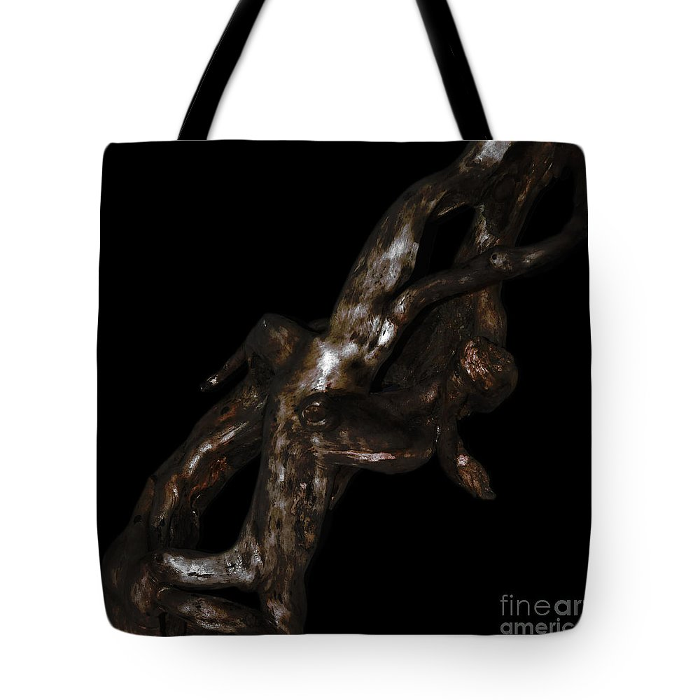 � Paul Davenport Tote Bag featuring the photograph Wudu 1 Xxiv by Paul Davenport