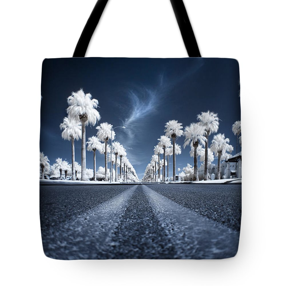 Infrared Tote Bag featuring the photograph X by Sean Foster