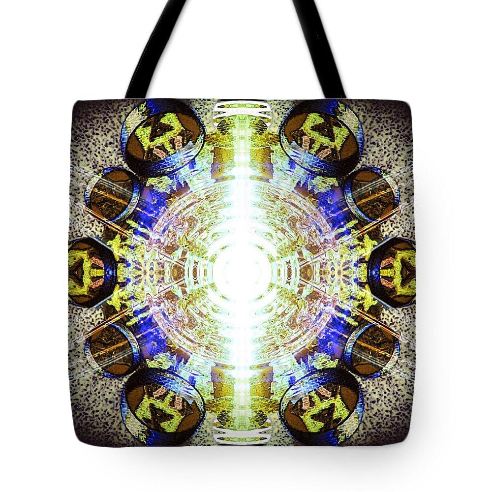 Angel Tote Bag featuring the digital art Xadall by Raymel Garcia