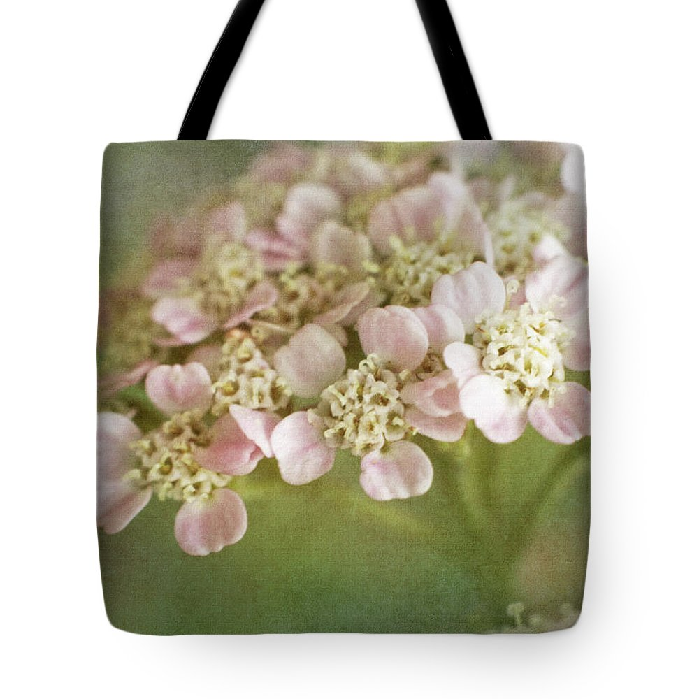 Bloom Tote Bag featuring the photograph Yarrow by David and Carol Kelly
