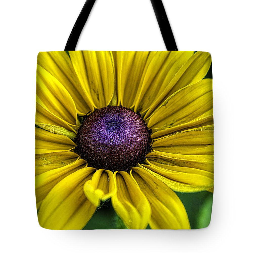 Yellow Tote Bag featuring the photograph Yellow Beauty by Brenda Hackett