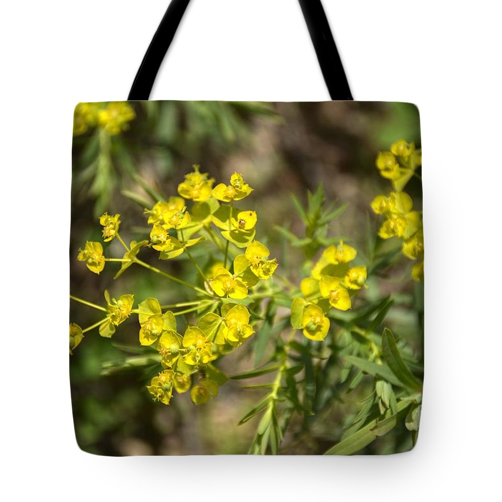 Yellow Tote Bag featuring the photograph Yellow For Summer by M Dale