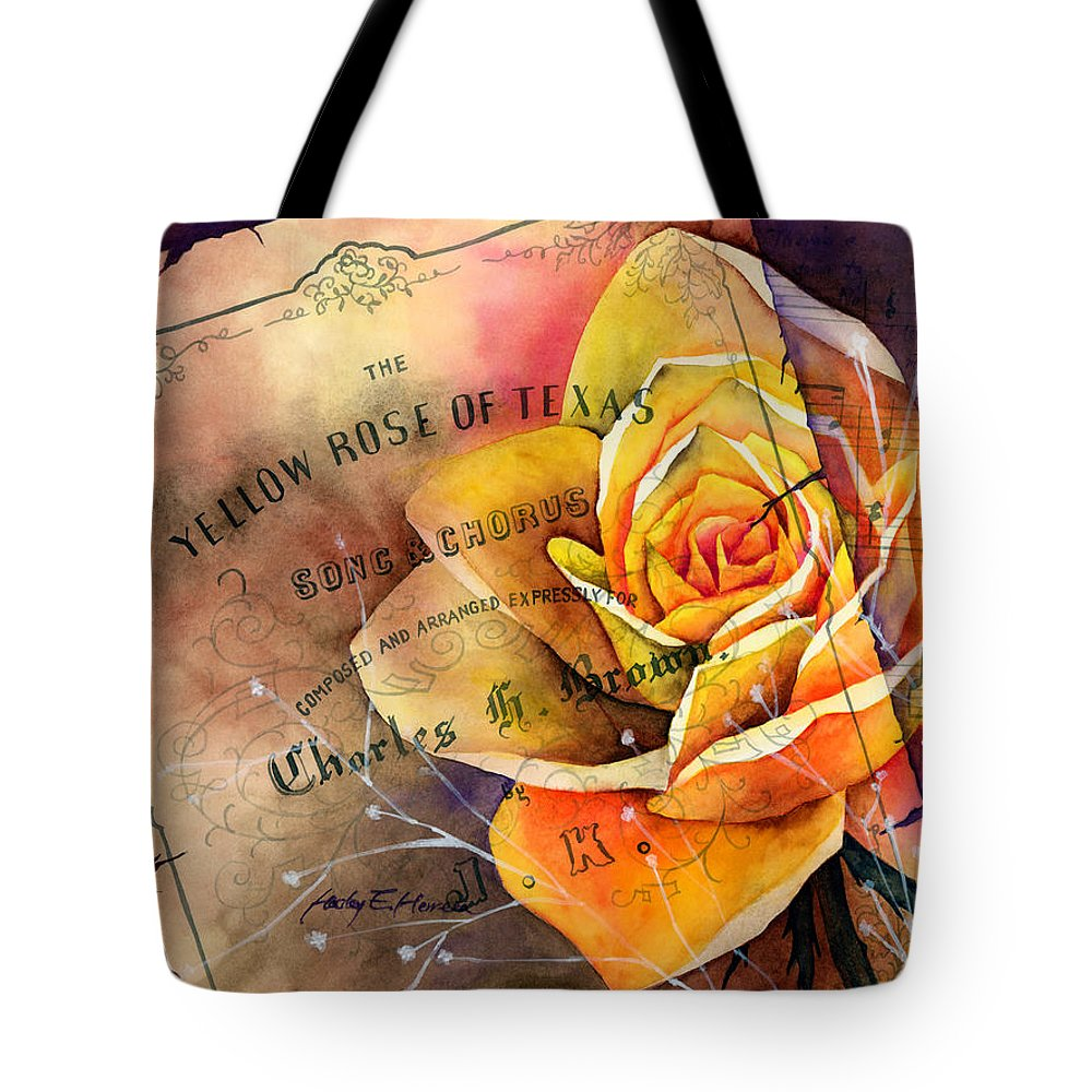 Yellow Rose Of Texas Tote Bags Fine Art America