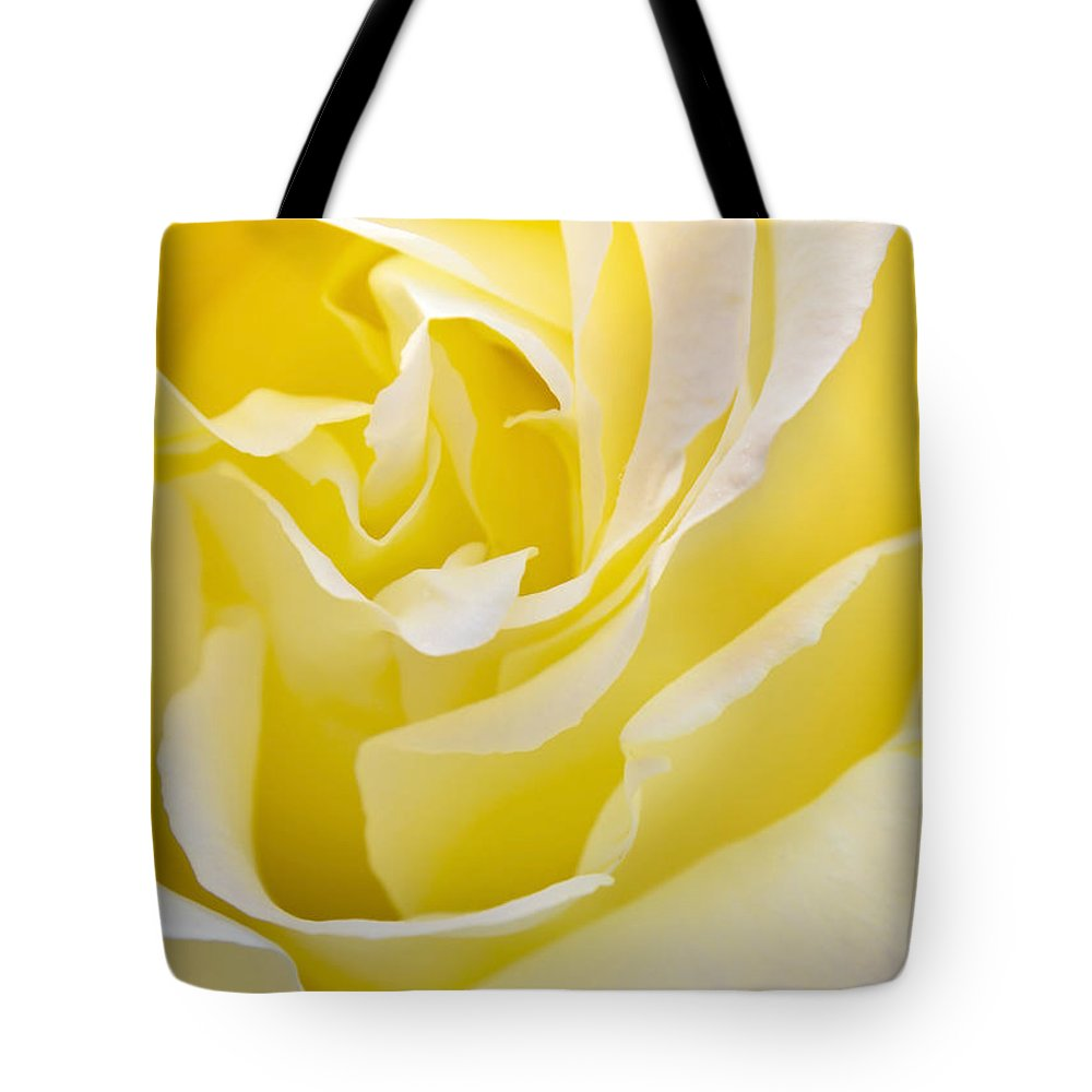 Rose Tote Bag featuring the photograph Yellow Rose by Svetlana Sewell