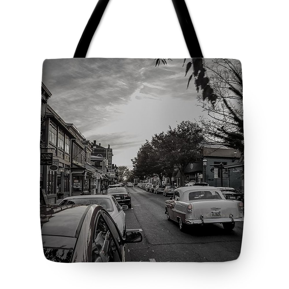 Tote Bag featuring the photograph Yesteryear by Michael Brooks
