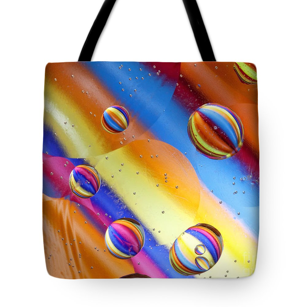 Macro Tote Bag featuring the photograph Yikes Stripes by Claudia Kuhn