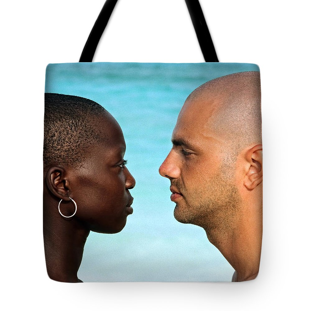 Man Tote Bag featuring the photograph Yin Yang by Skip Hunt