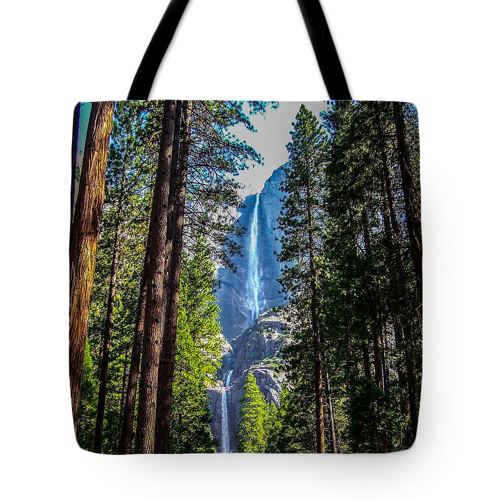 Yosemite Tote Bag featuring the photograph Yosemite Falls by Dany Lison