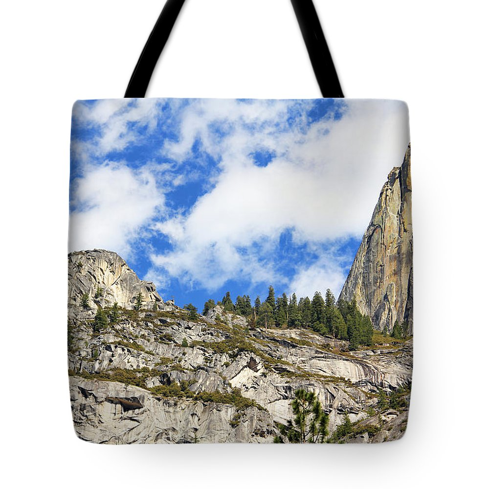 Yosemite National Park Tote Bag featuring the photograph Yosemite Granite by Jack Schultz