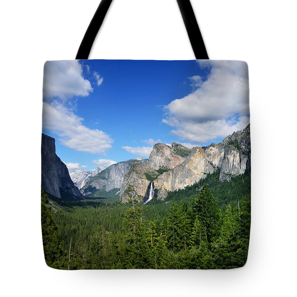 Yosemite National Park Tote Bag featuring the photograph Yosemite National Park by RicardMN Photography