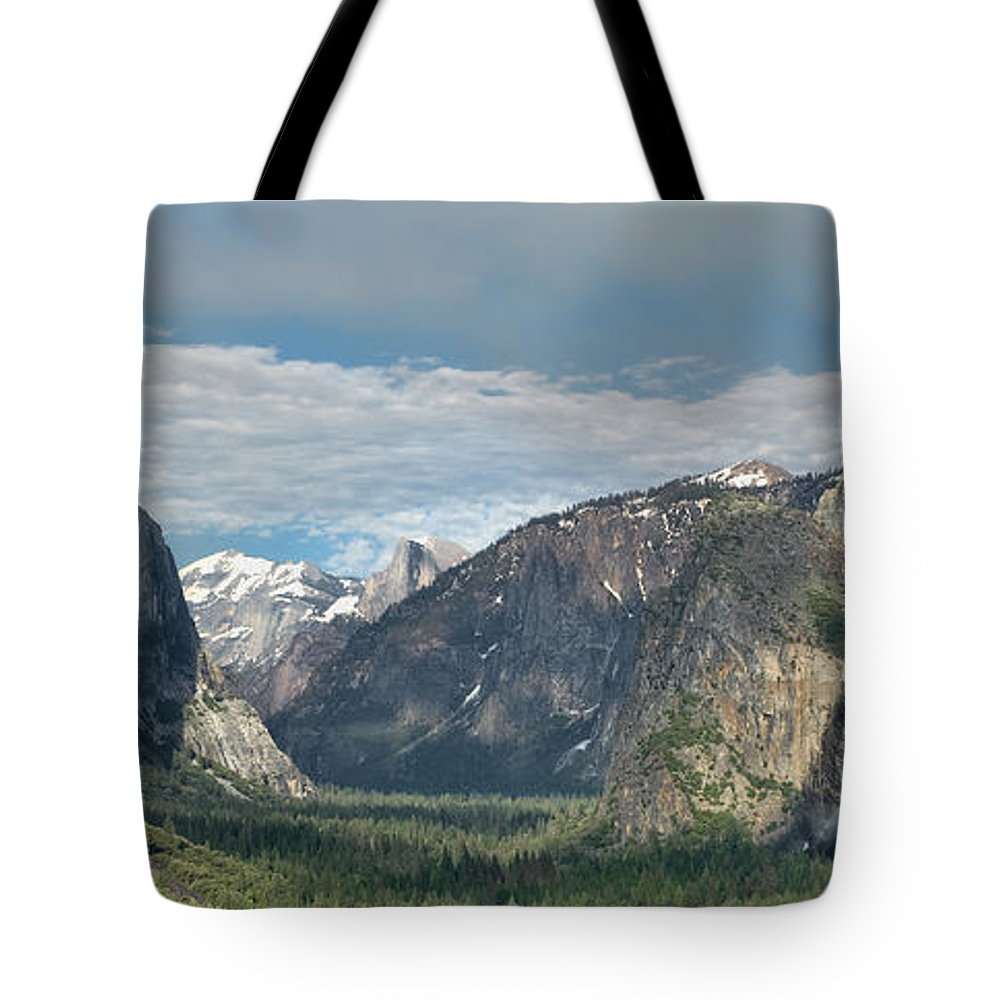Yosemite Tote Bag featuring the photograph Yosemite Valley Afternoon by Sandra Bronstein