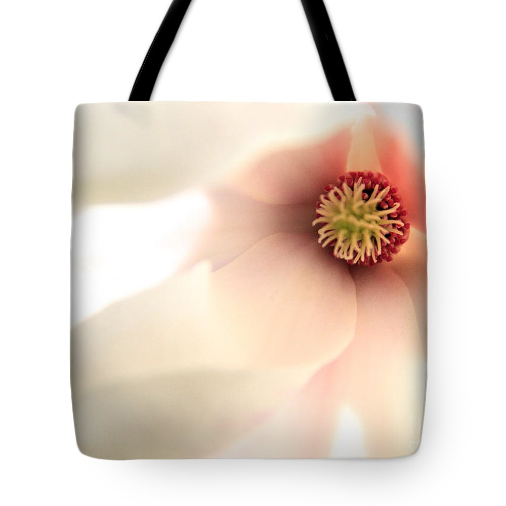 Magnolia Tote Bag featuring the photograph You Are Beautiful To Me by Nancy Harrison