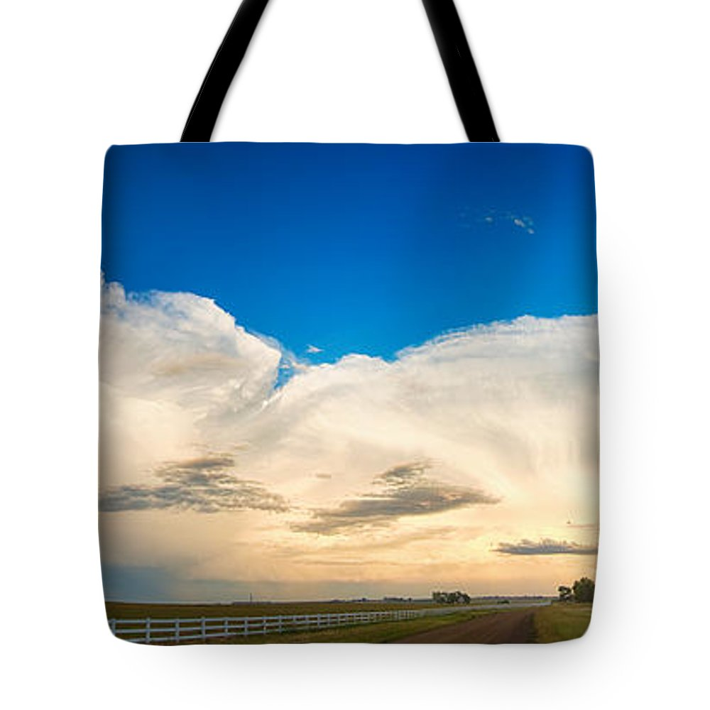 Cumulonimbus Tote Bag featuring the photograph You Are Welcome by James BO Insogna