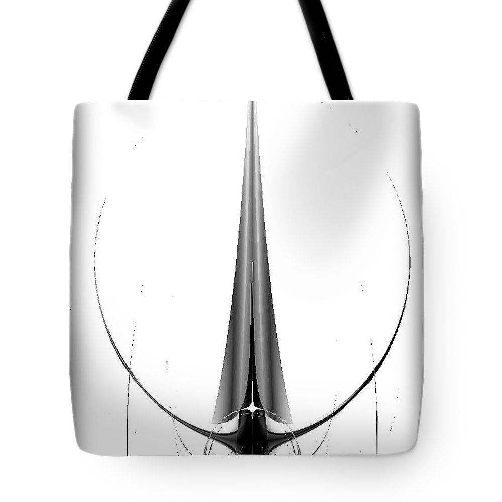 2-dimensional Tote Bag featuring the digital art You Bet I Am by Dana Haynes