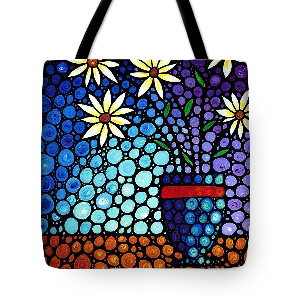 Impressionism Art Tote Bag featuring the painting You Cant Hide Beautiful by Sharon Cummings