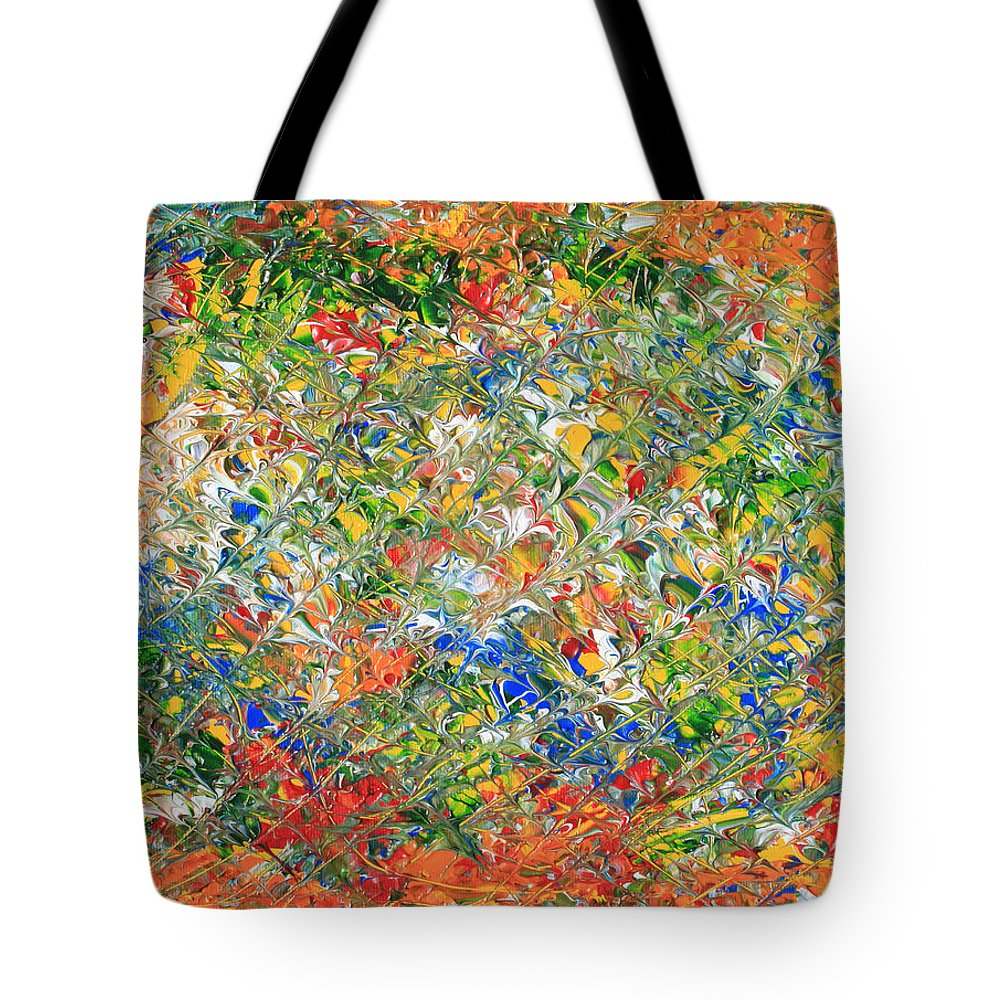 Original Tote Bag featuring the painting You Name  It by Carl Deaville