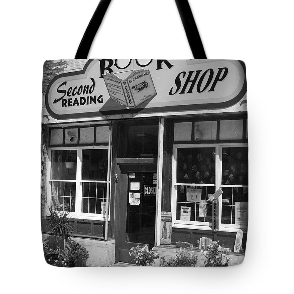 Black And White Tote Bag featuring the photograph You Read Me Like A Book by Crystal Nederman