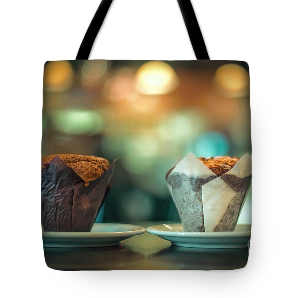 Cupcake Tote Bag featuring the photograph Your Sweetness Is My Weakness by Evelina Kremsdorf