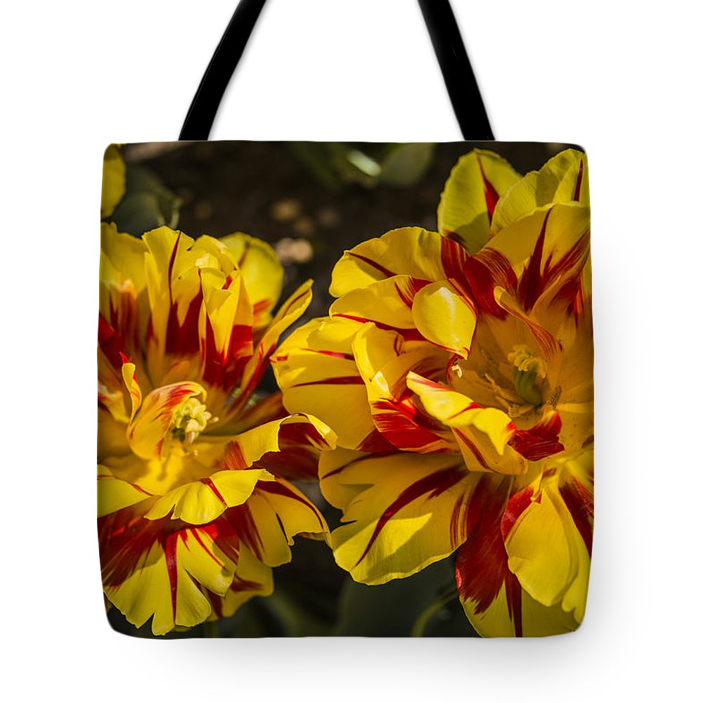 Floral Tote Bag featuring the photograph You're So Beautiful by Theodore Jones