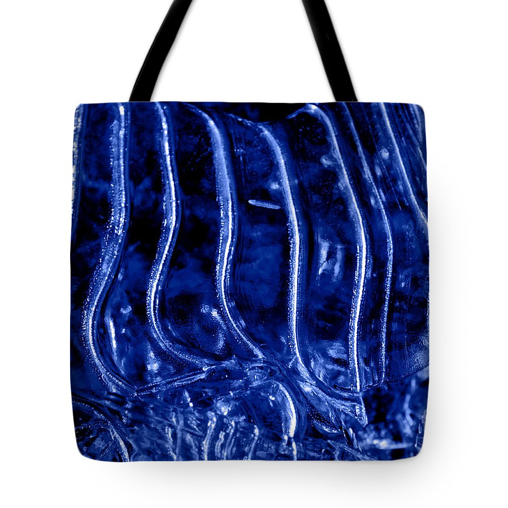 Zebra Tote Bag featuring the photograph Zebra Abstract by John Stephens