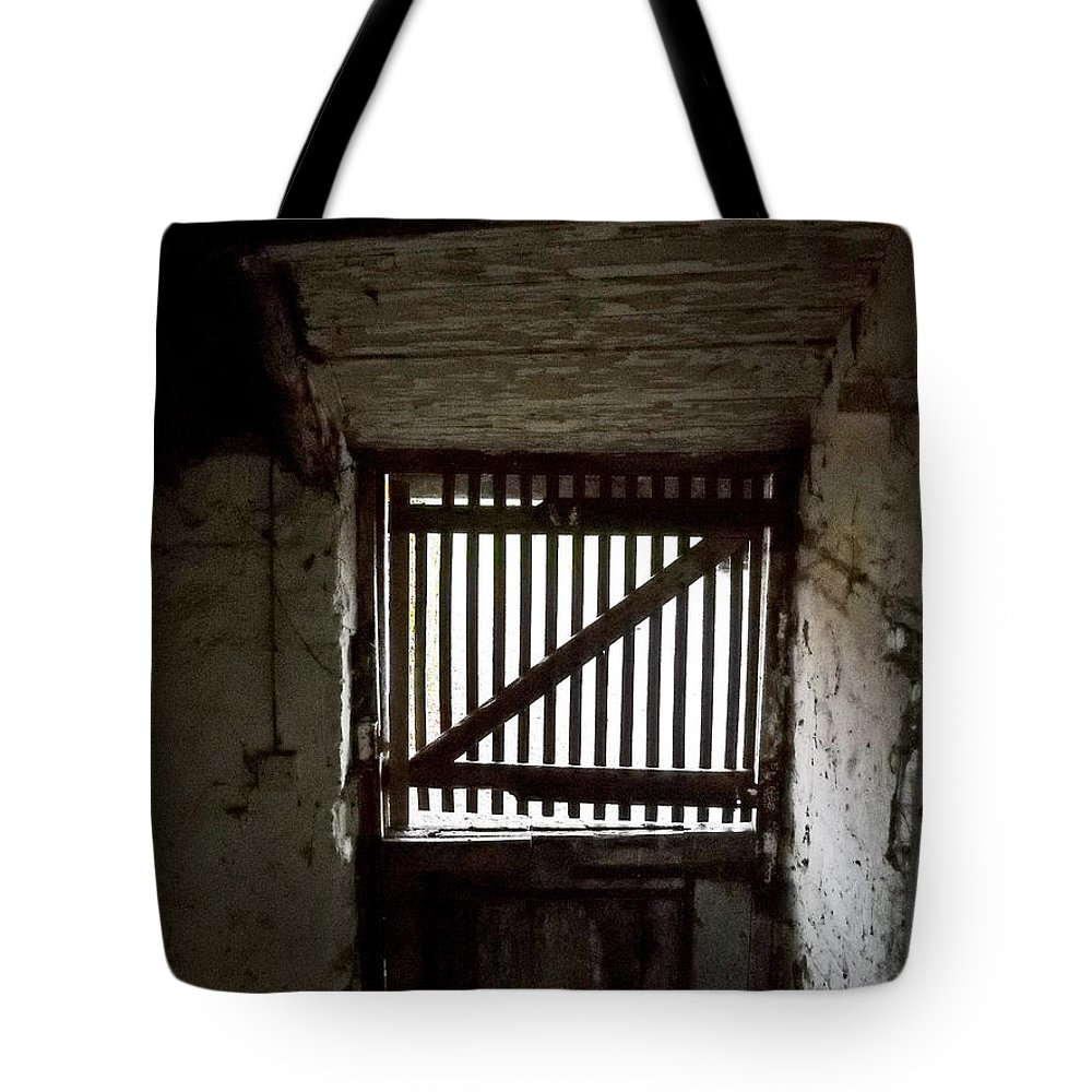 United Kingdom Tote Bag featuring the photograph Zee Stable Door by Julia Raddatz