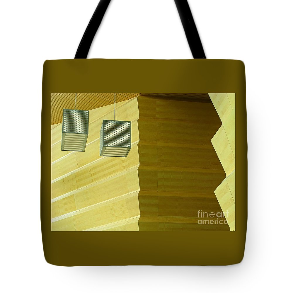 Zig-zag Tote Bag featuring the photograph Zig-zag by Ann Horn