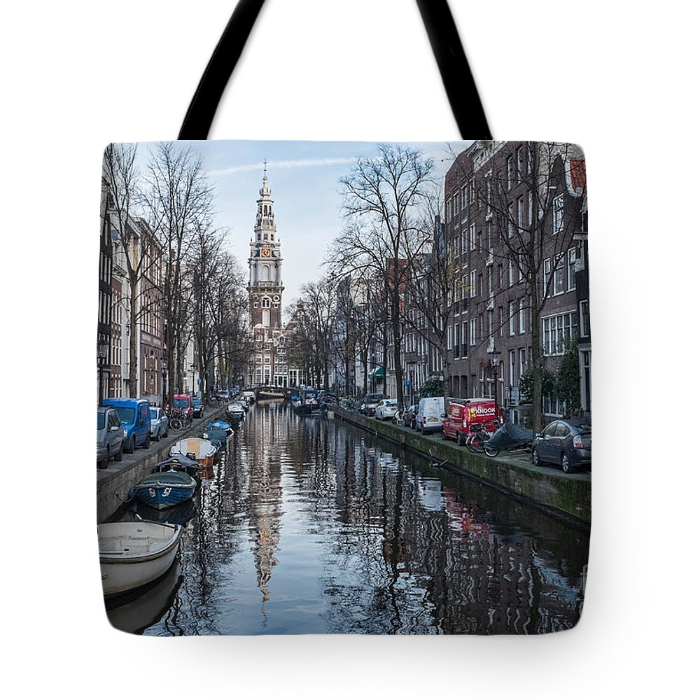 Amsterdam Zuiderkerk Tote Bag featuring the photograph Zuiderkerk Amsterdam by Ann Garrett