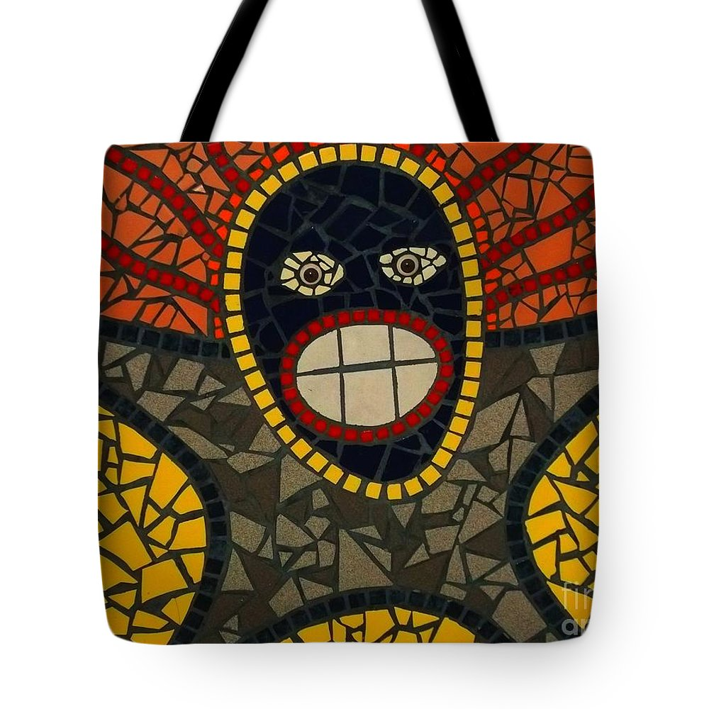 Tote Bag featuring the photograph Zulu Man by Kelly Awad
