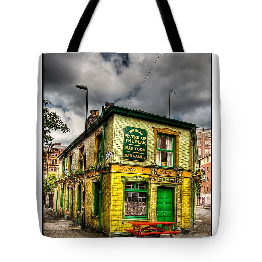 Victorian Tote Bag featuring the photograph Relics - Old Pub by Beverly Cash