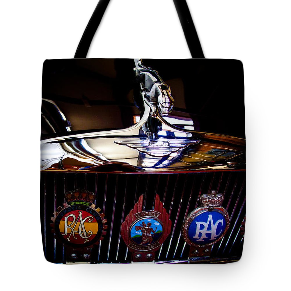 64 Tote Bag featuring the photograph 1964 Jaguar Mk X by David Patterson