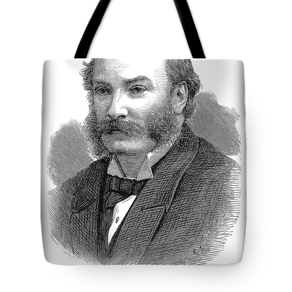 19th Century Tote Bag featuring the photograph 3rd Baron Rayleigh by Granger