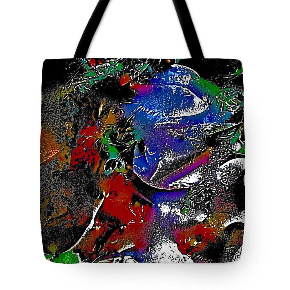 Abstract Tote Bag featuring the photograph Abstract 21 by Pamela Cooper