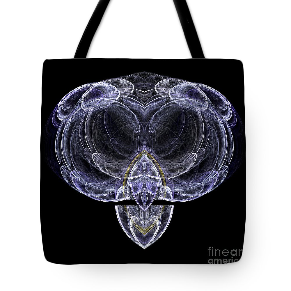 Fractal Digital Art Tote Bag featuring the photograph Abstract Sixty-one by Mike Nellums