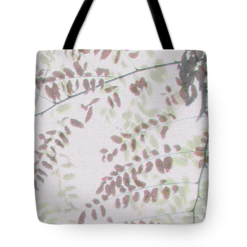 Autumn Tote Bag featuring the photograph Autumn Meeting by Eena Bo