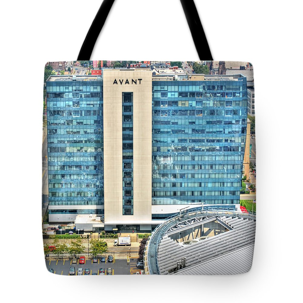 Tote Bag featuring the photograph Avant by Michael Frank Jr
