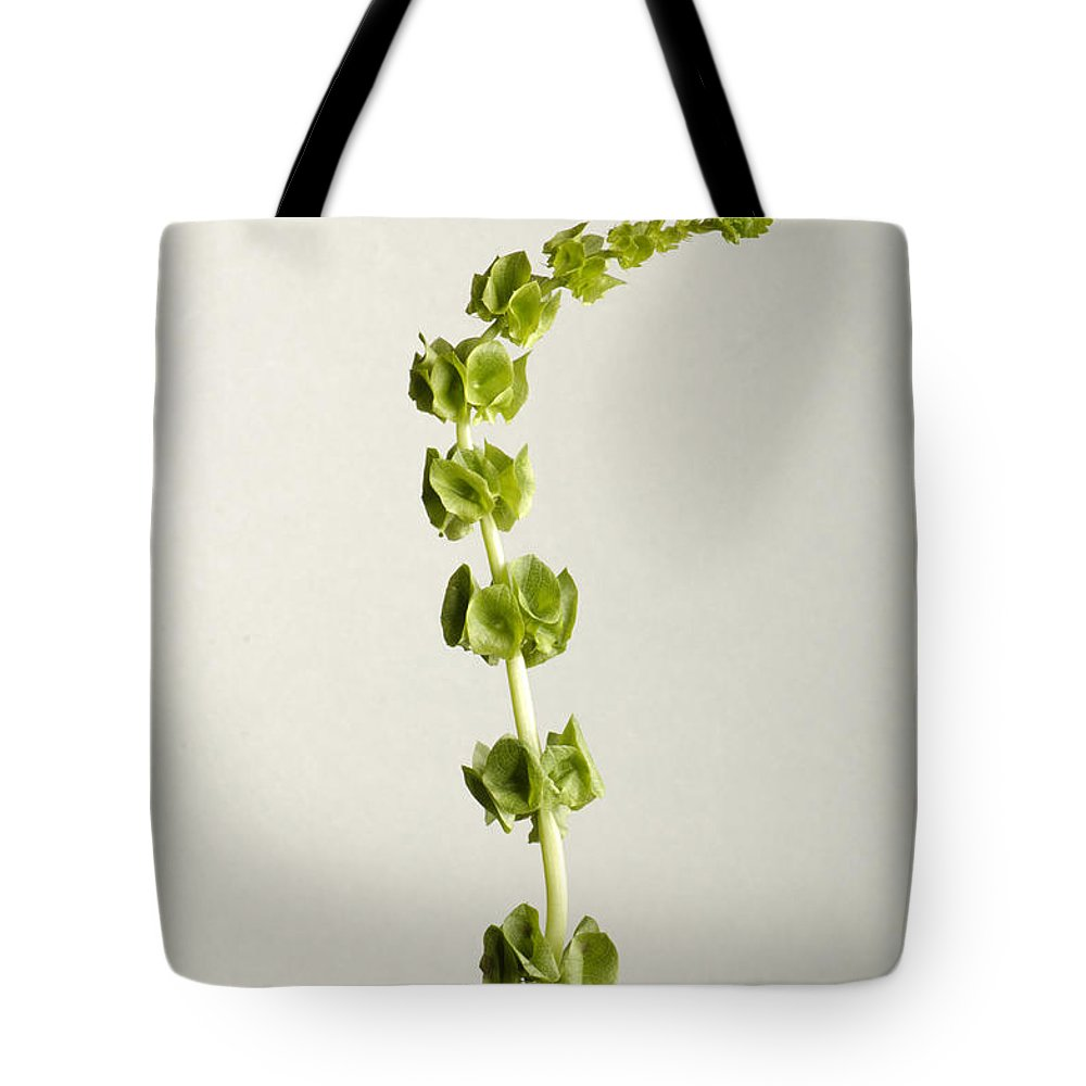 Photography Tote Bag featuring the photograph Bells Of Ireland Molucella Laevis by Joel Sartore
