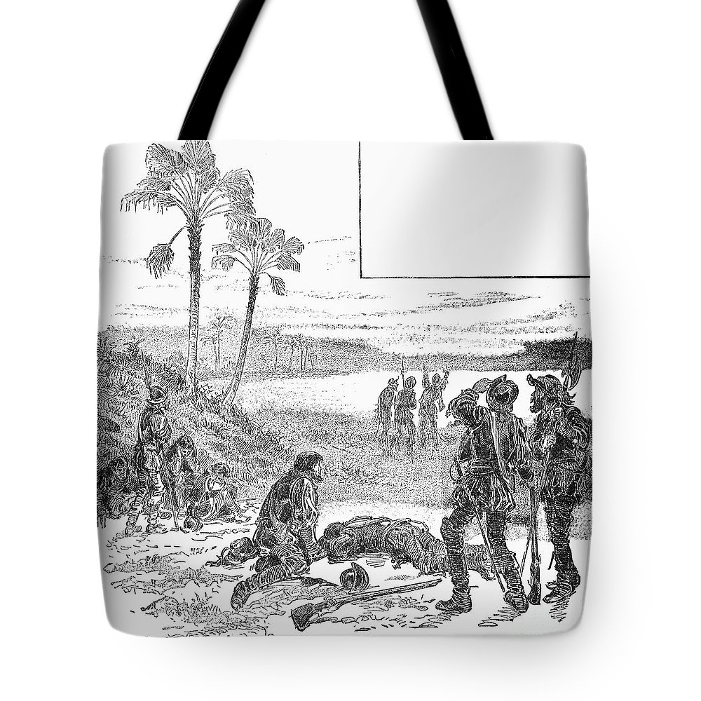 1536 Tote Bag featuring the photograph Cabeza De Vaca by Granger