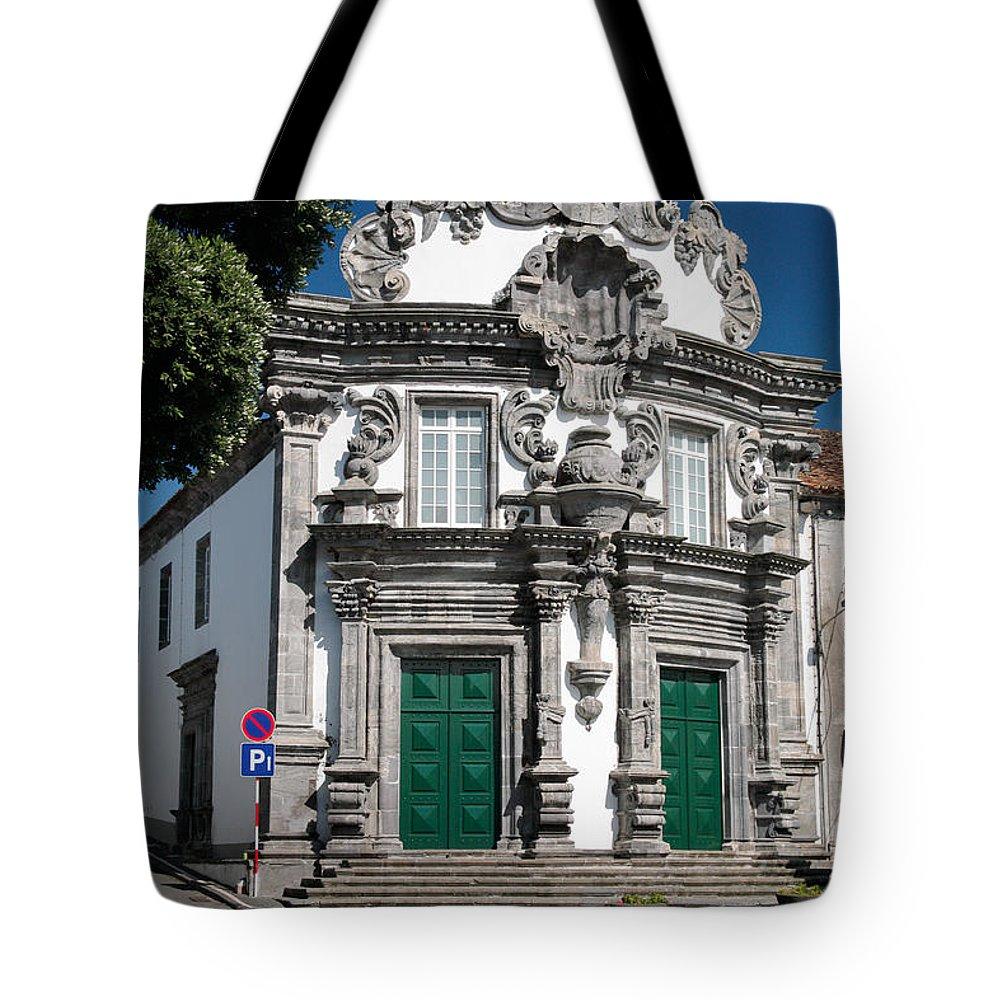 Church Tote Bag featuring the photograph Church by Gaspar Avila