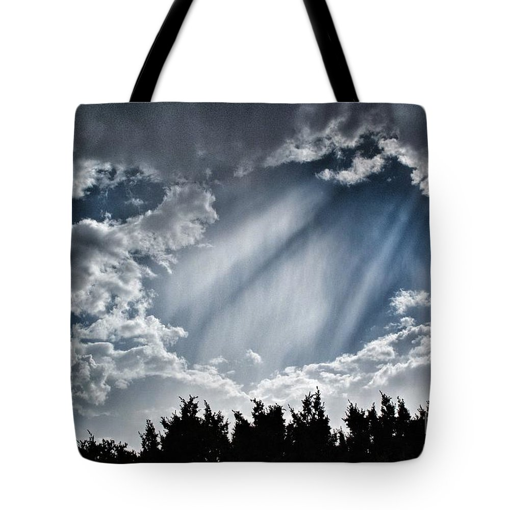 2012 Tote Bag featuring the photograph Clouds And Sky by Matt Suess
