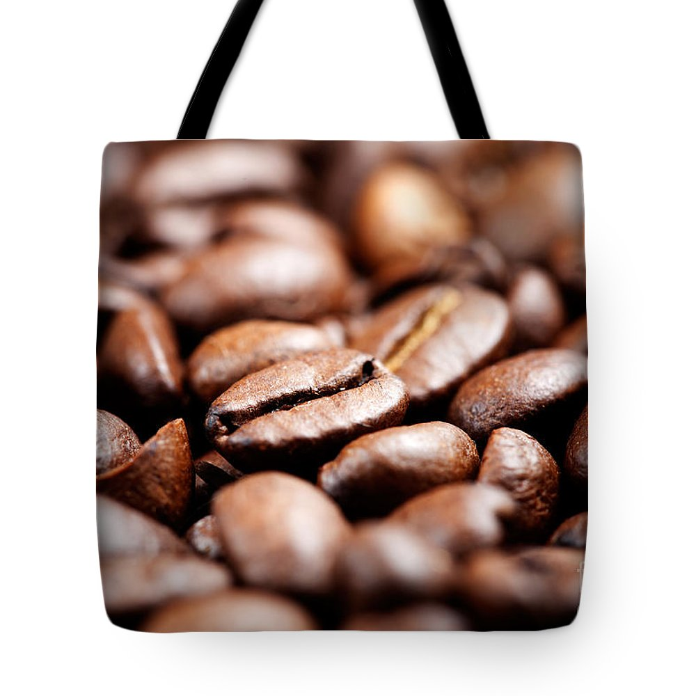 Backdrop Tote Bag featuring the photograph Coffee by Kati Finell