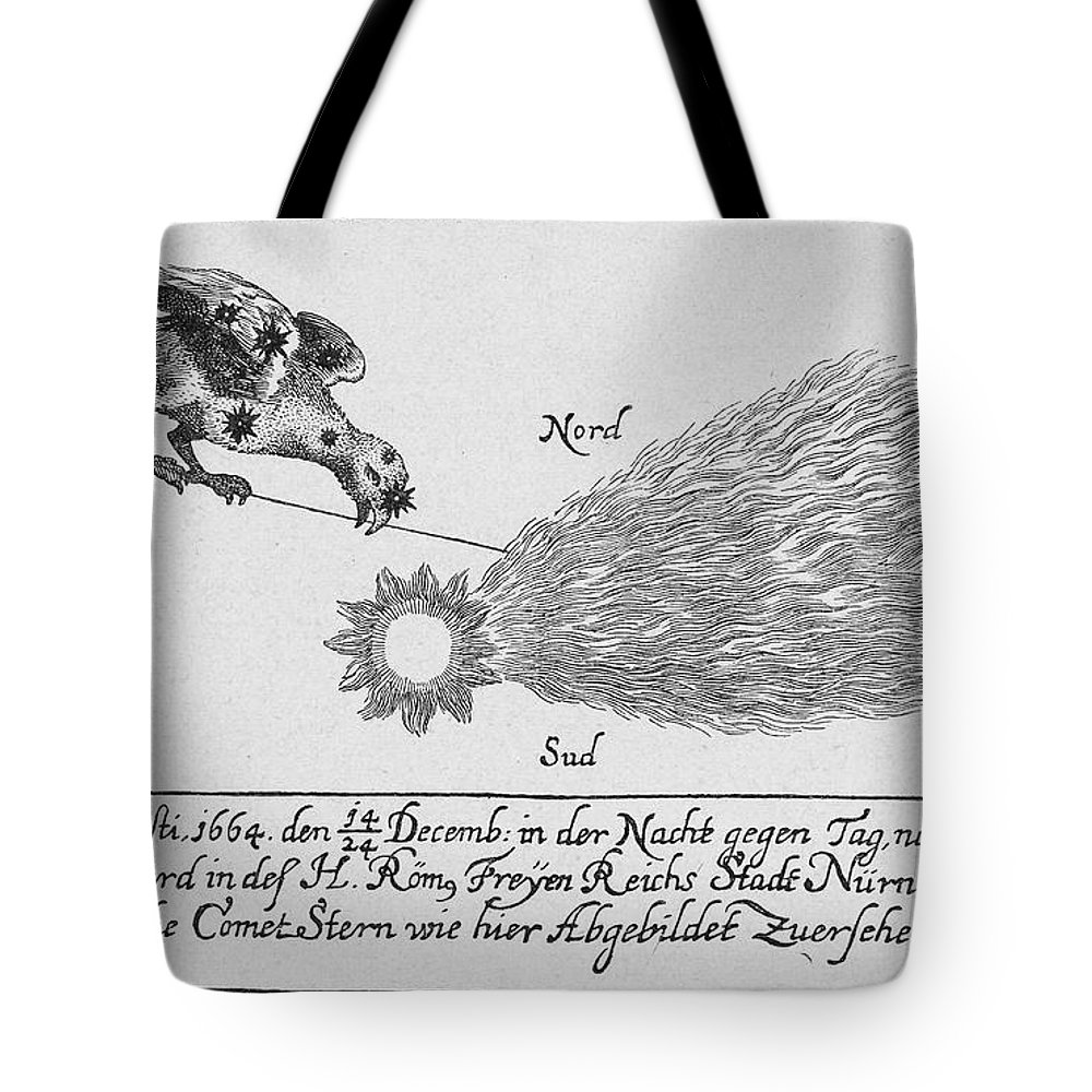 1664 Tote Bag featuring the photograph Comet, 1664 by Granger