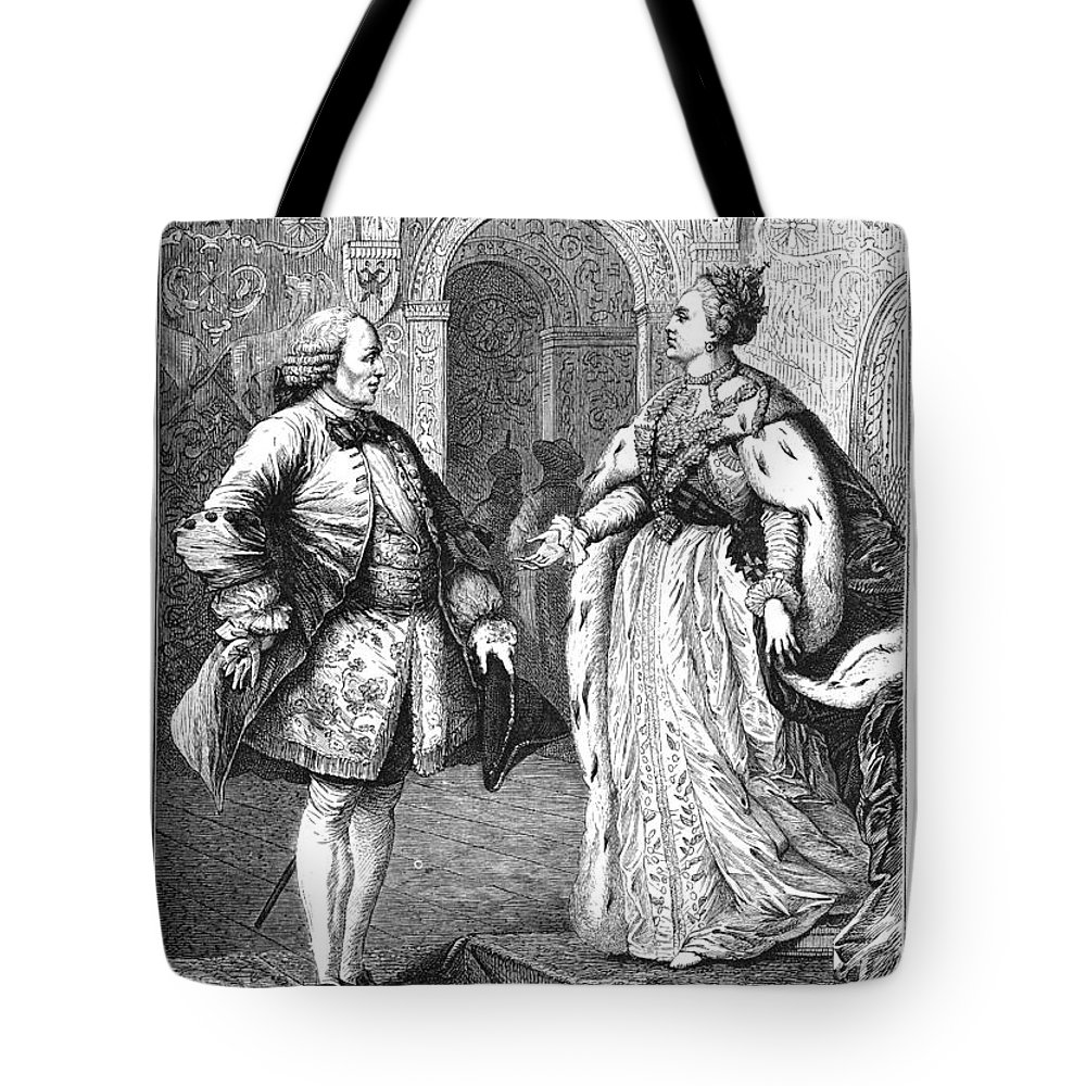 1773 Tote Bag featuring the photograph Denis Diderot (1713-1784) by Granger