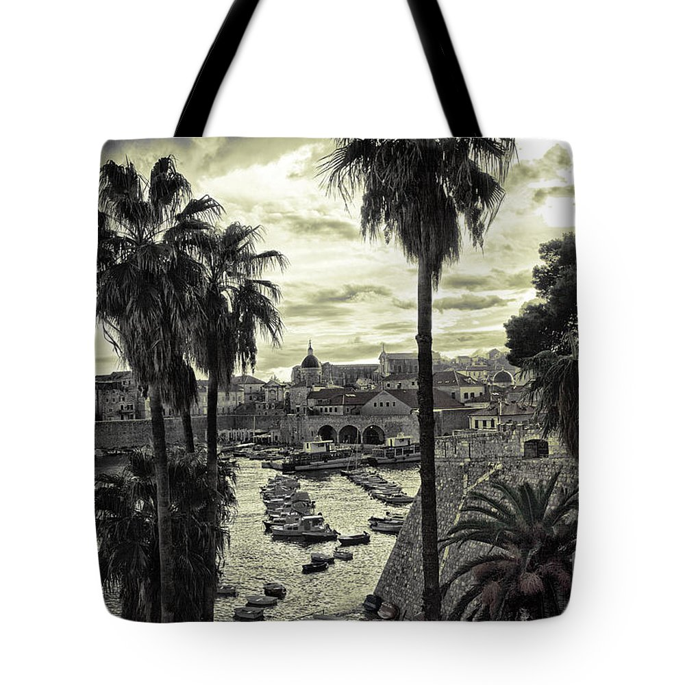 Landscape Tote Bag featuring the photograph Dubrovnik View 7 by Madeline Ellis
