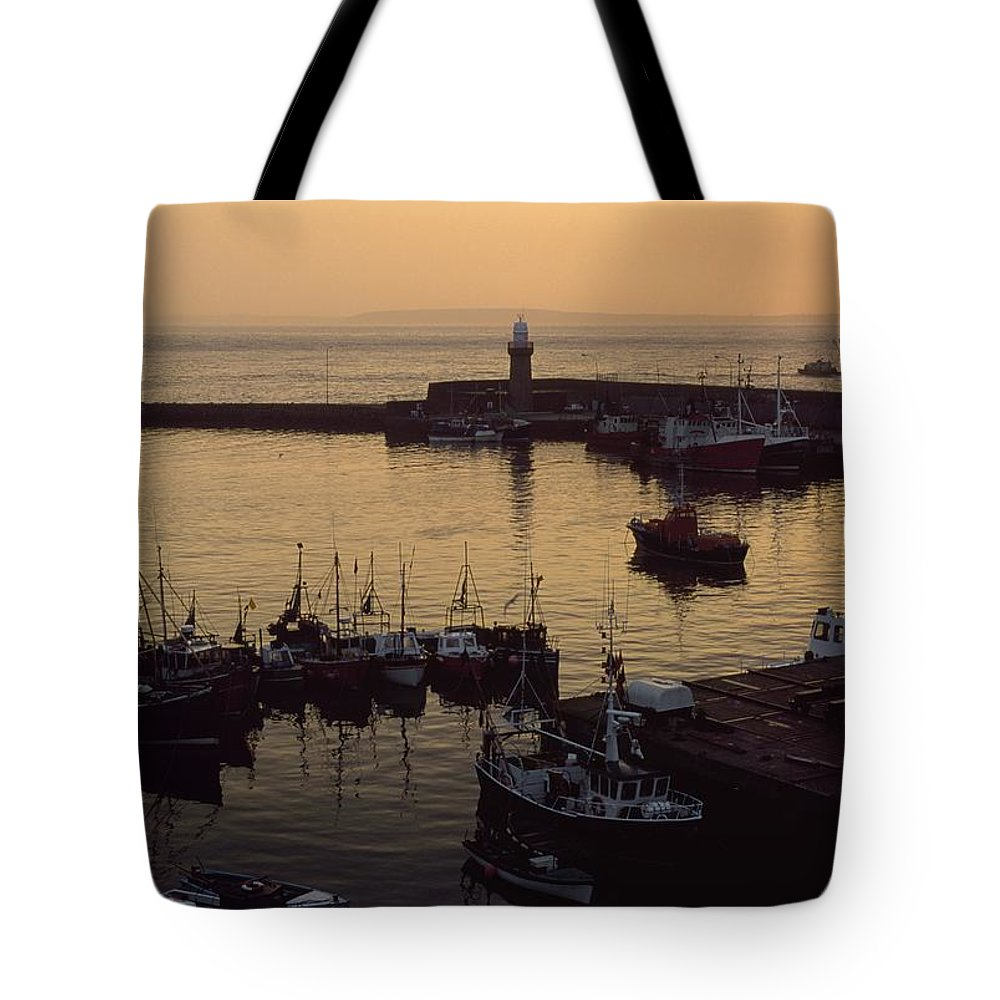 Outdoors Tote Bag featuring the photograph Dunmore East, Co Waterford, Ireland by The Irish Image Collection