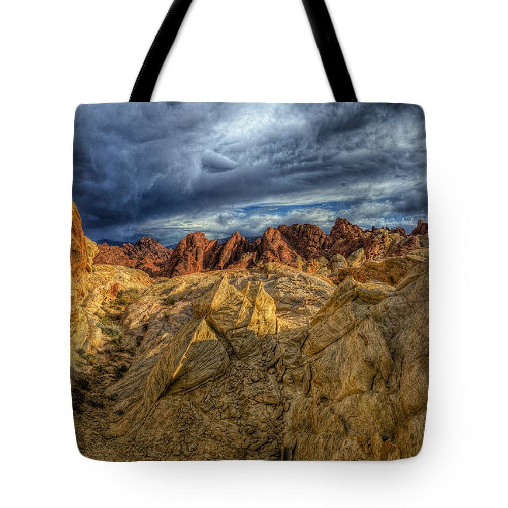 Valley Of Fire State Park Photographs Tote Bags