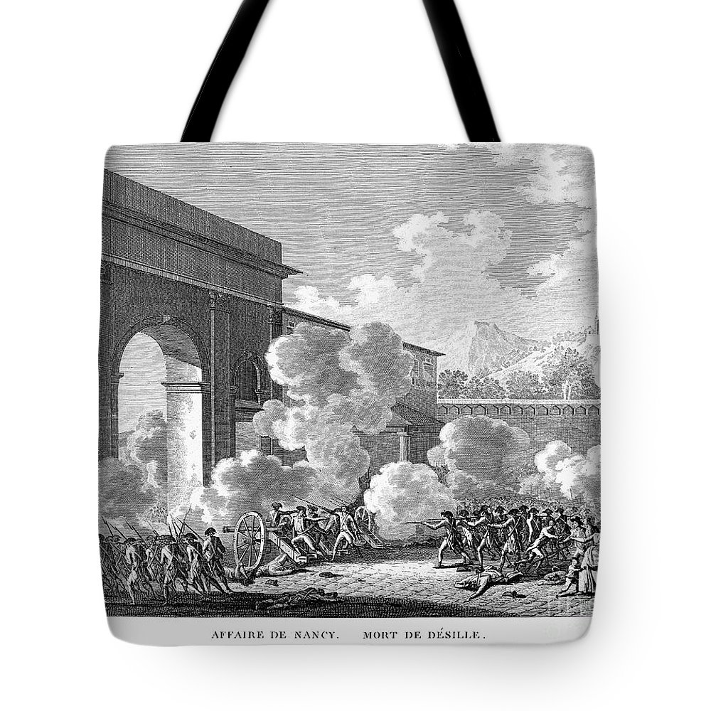 1790 Tote Bag featuring the photograph French Revolution, 1790 by Granger