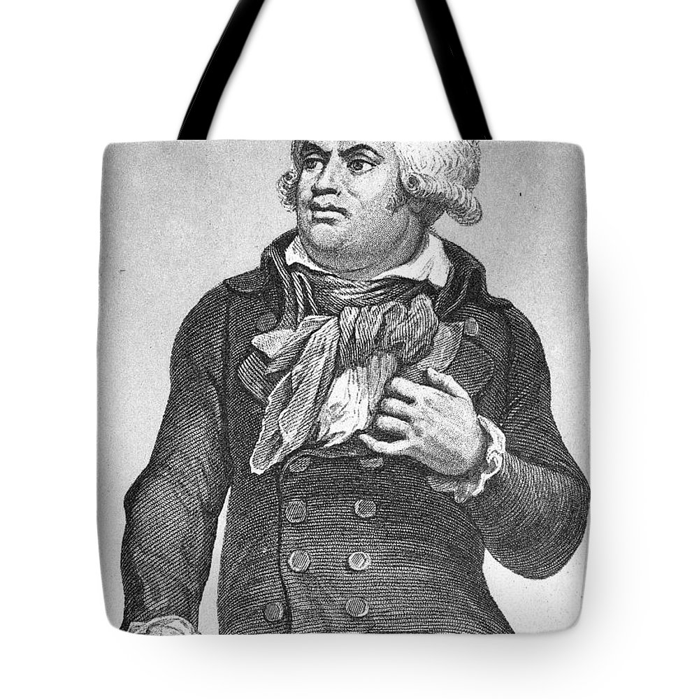 Georges Danton georges danton (1759-1794) tote bag