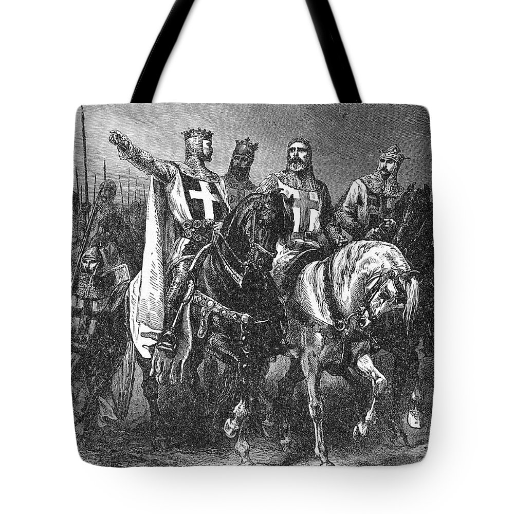 1099 Tote Bag featuring the photograph Godfrey (1058-1100) by Granger