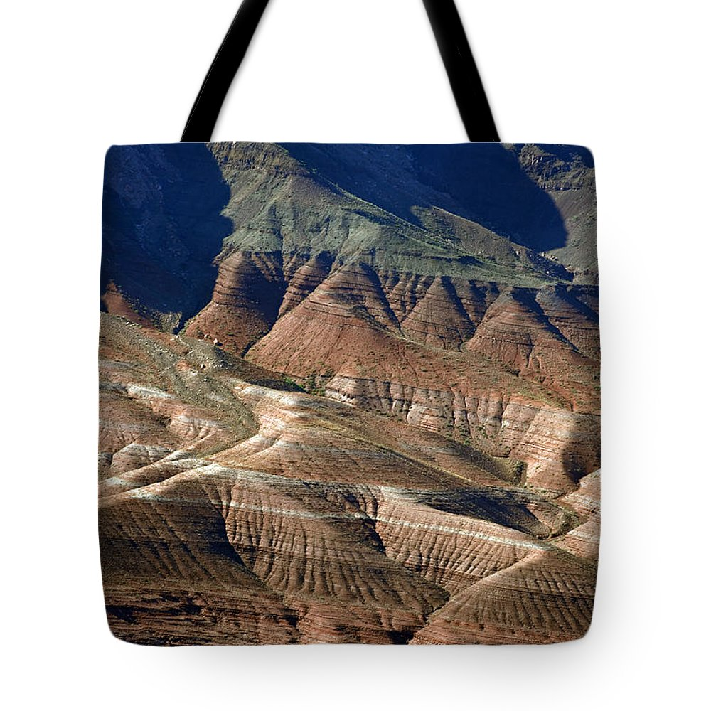 Grand Canyon Tote Bag featuring the photograph Grand Canyon Rock Formations IIi by Julie Niemela