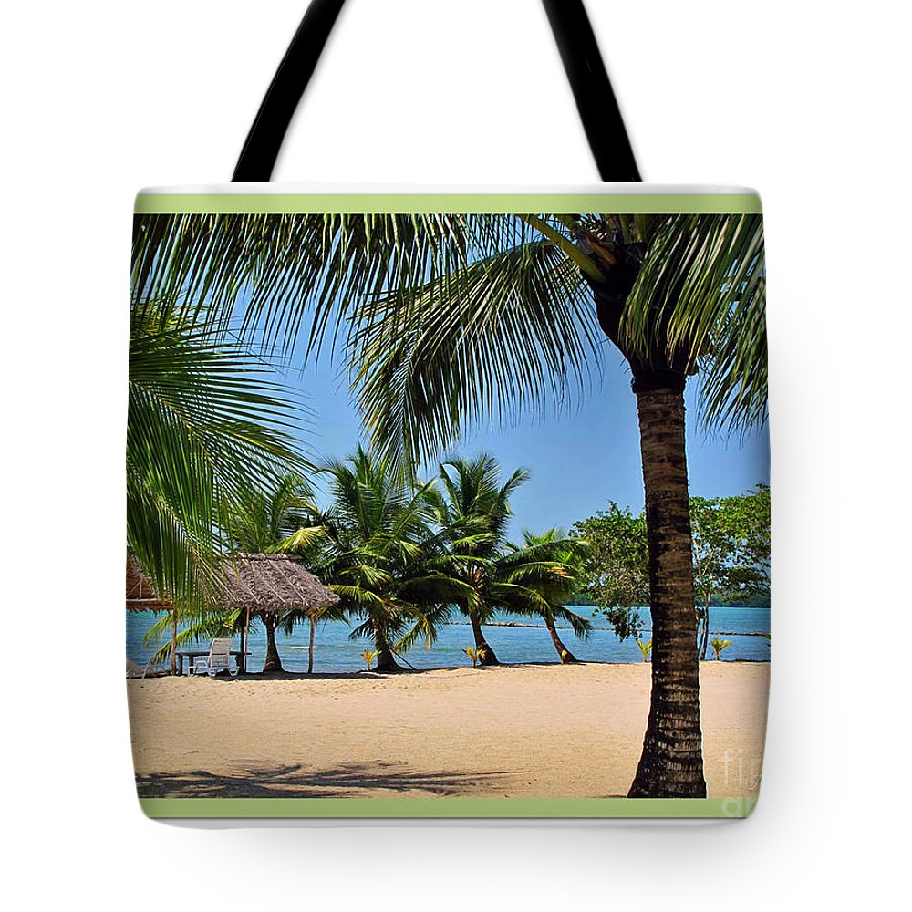 Beach Tote Bag featuring the photograph Guatamala Beach by Joan Minchak